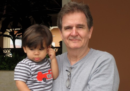 Mike and Grandson