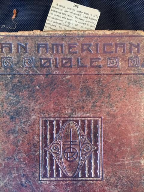 West texas- An American Bible