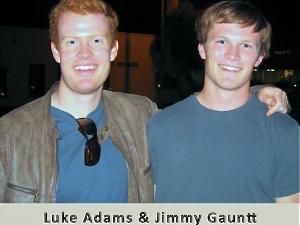 Luke and Jimmy