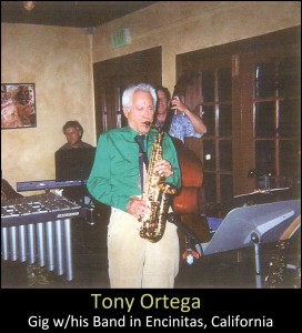 The Sax Players - Anthony Ortega
