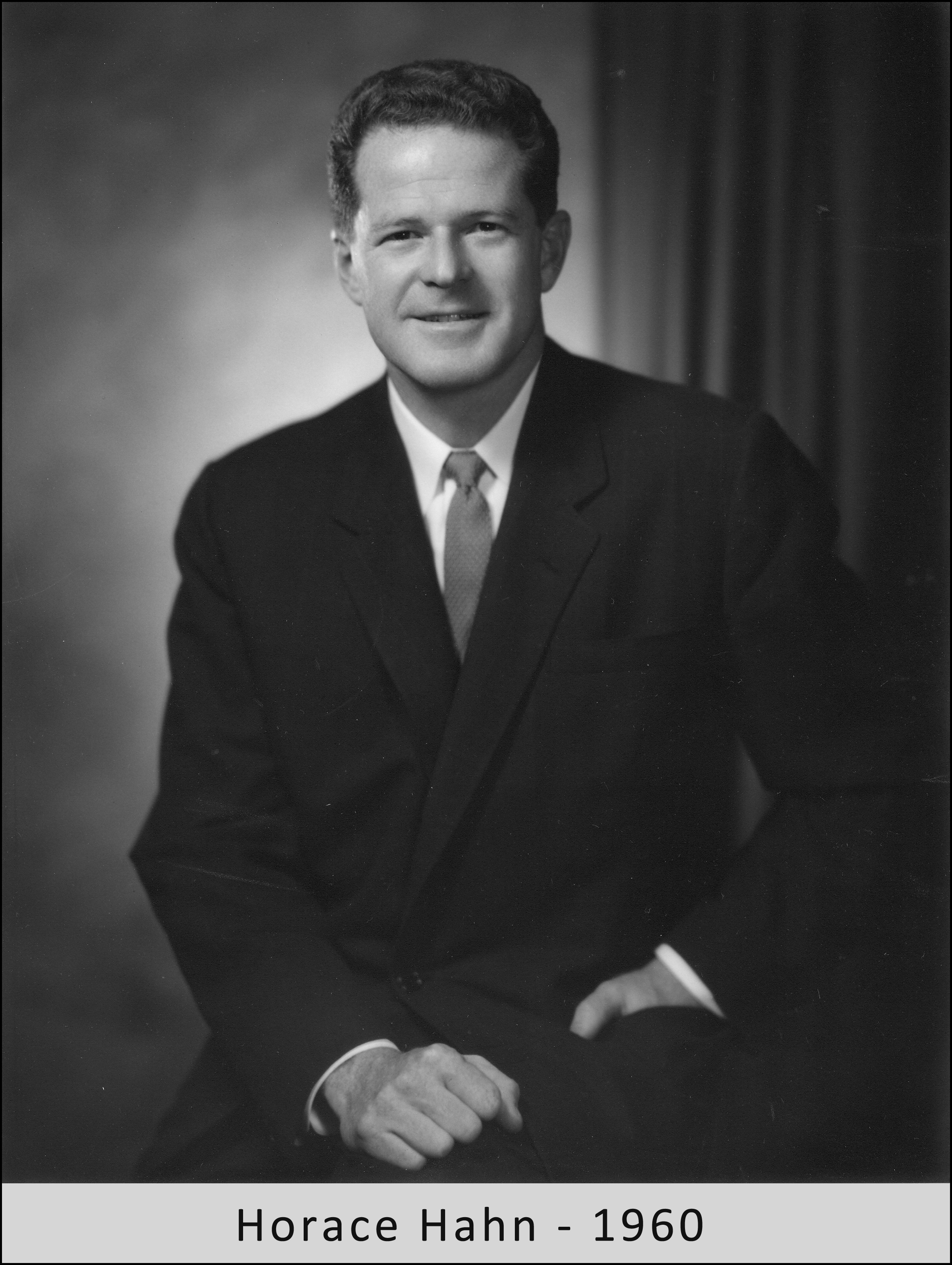 Horace Hahn in 1960