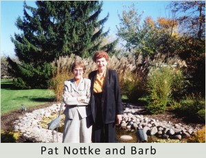 Pat Nottke and Barbara Gauntt