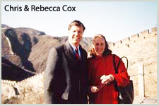 Chris and Rebecca Cox