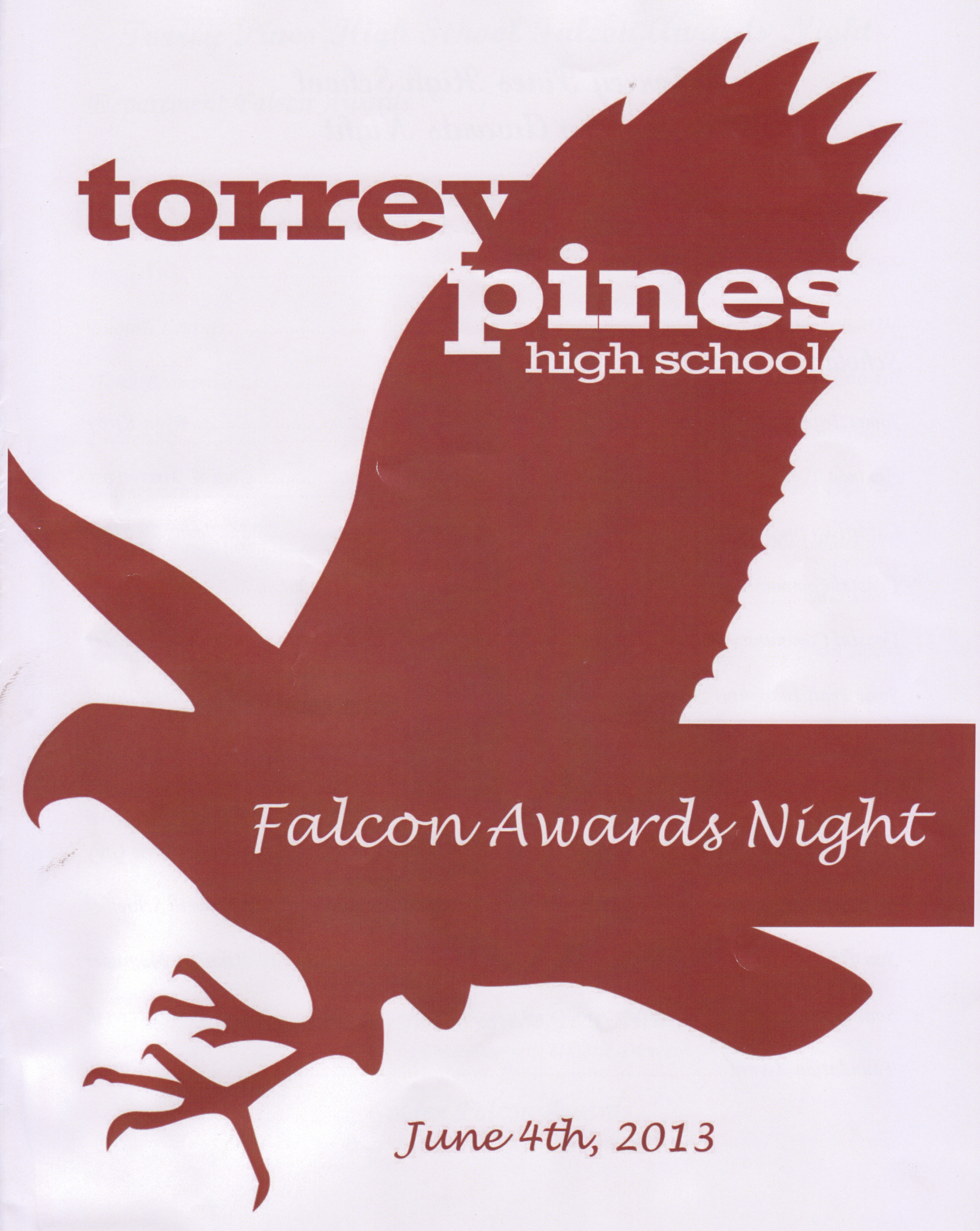 Torrey Pines High School Foundation Awards 2013