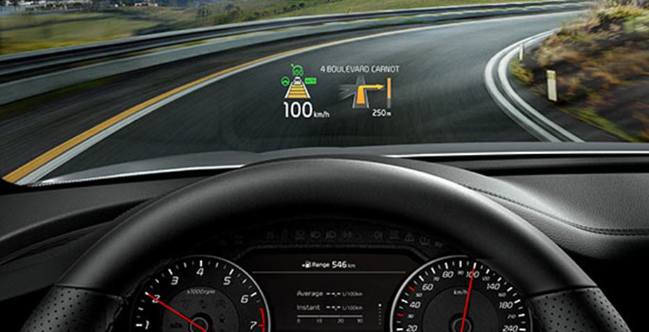 Stinger Heads Up Display