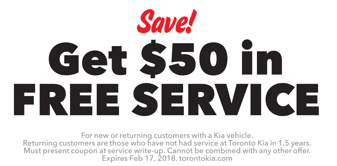 Get $50 in free service