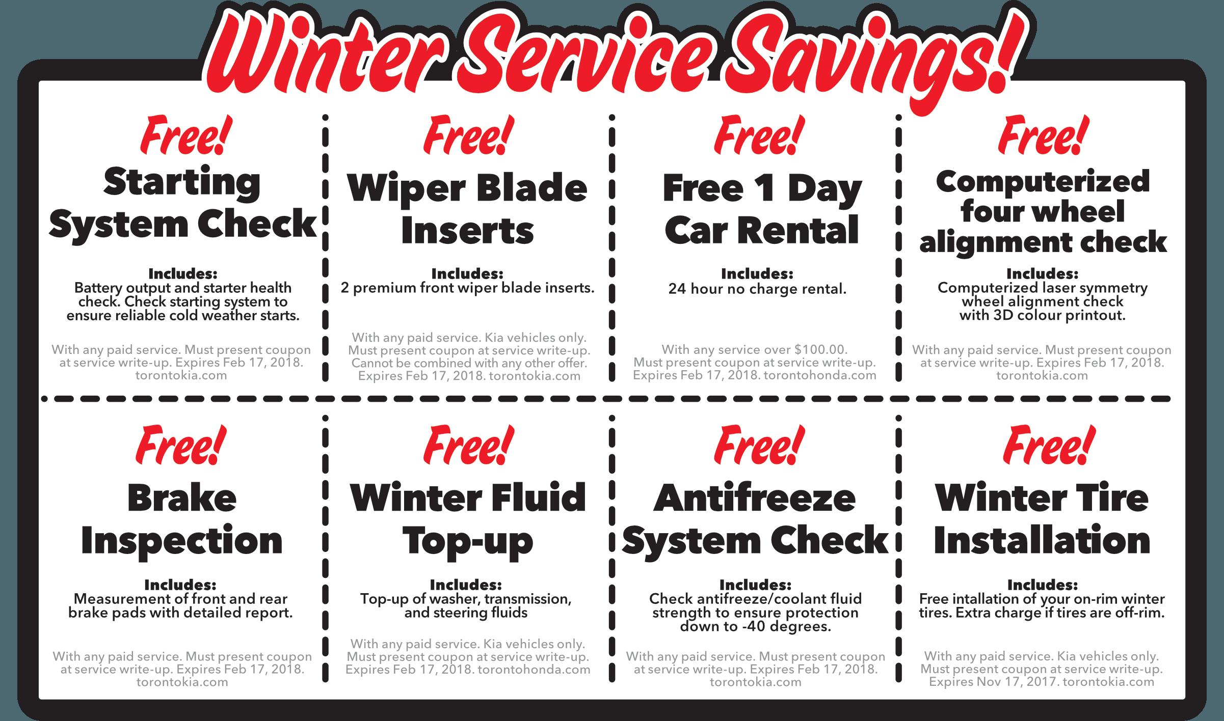 Free Service Winter 2016 Edition