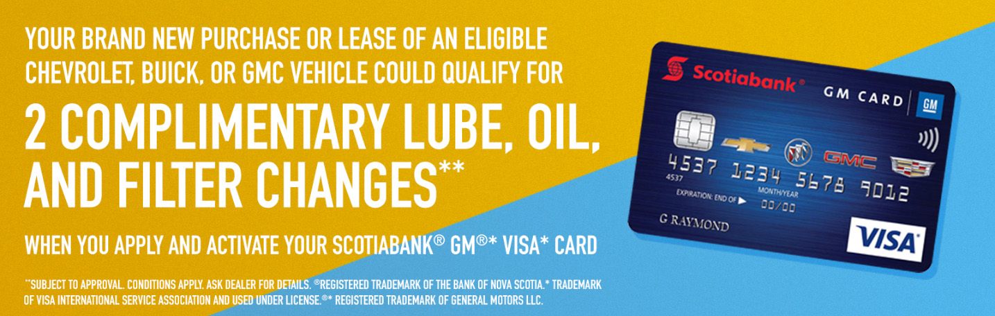 Complimentary lube, oil, and filter changes