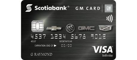 Scotiabank® GM®*Visa Infinite* Card