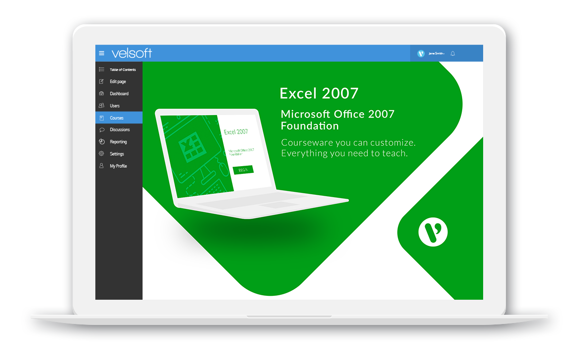 Microsoft Office Excel 2007: Foundation - Velsoft