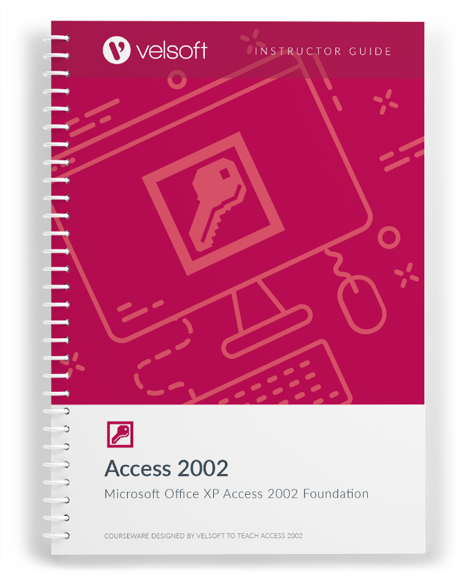 Microsoft XP Access 2002 Basic