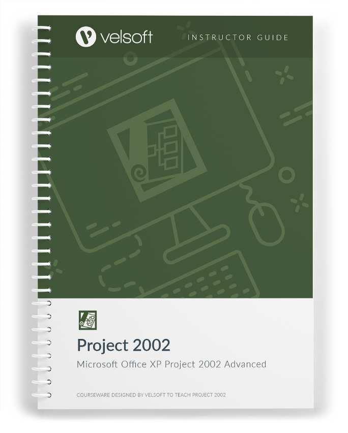 Microsoft XP Project 2002 Advanced