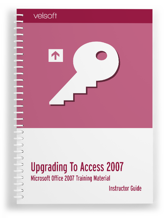 Upgrading to Office Access 2007
