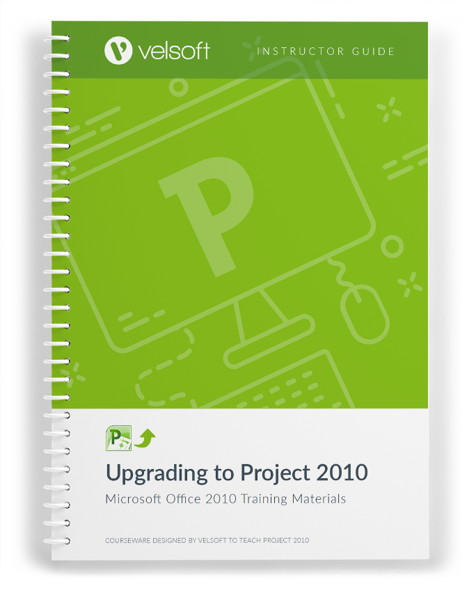 Upgrading to Office Project 2010
