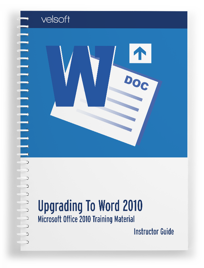 Upgrading to Microsoft Office Word 2010