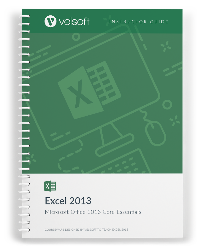Office Excel 2013 Core Essentials