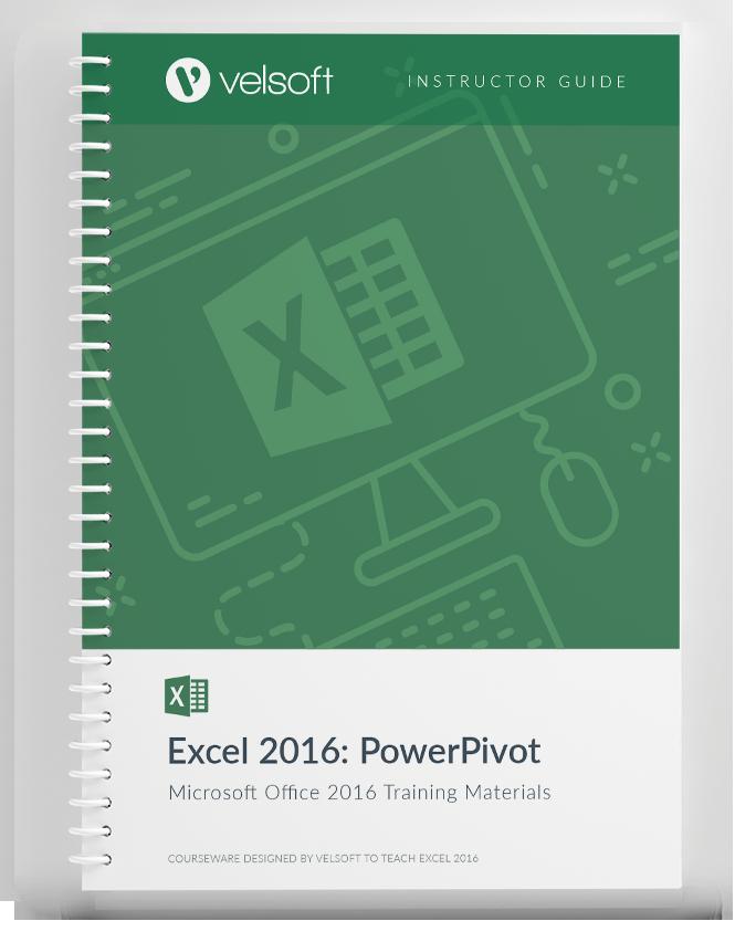 Microsoft Excel 2016 PowerPivot