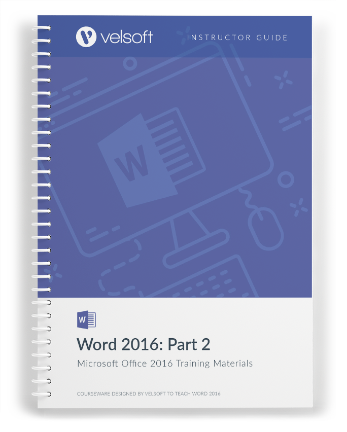 Microsoft Word 2016: Part Two