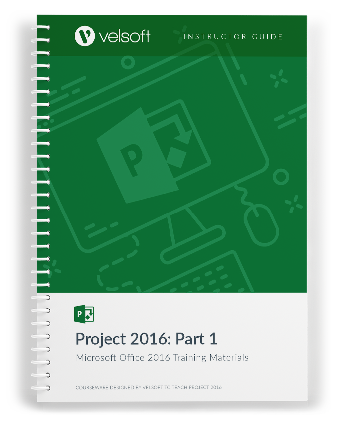 Microsoft Project 2016: Part One