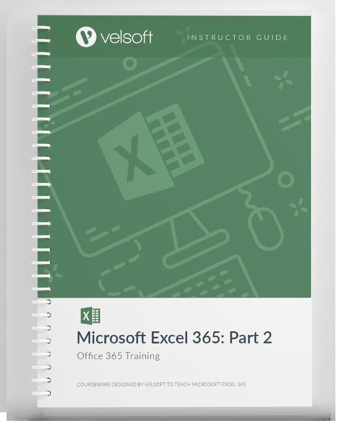 Microsoft 365 Excel: Part 2