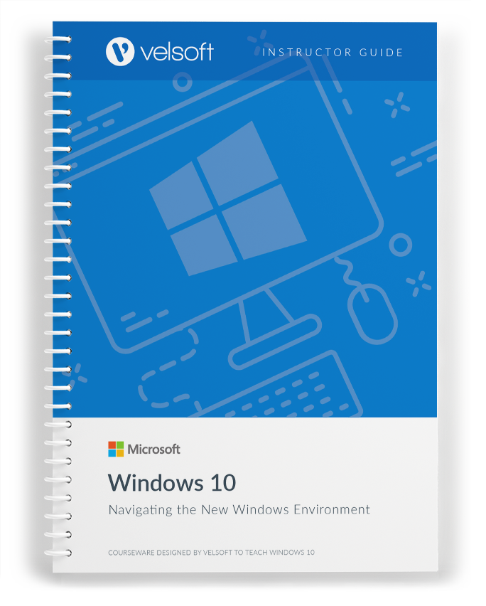 Microsoft Windows 10: Navigating the new Windows Environment