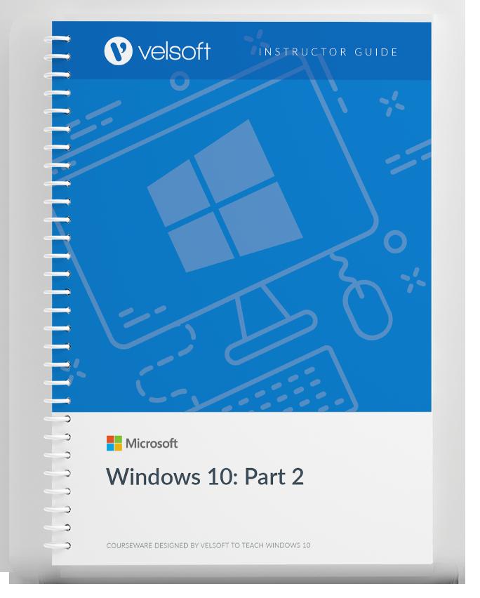Microsoft Windows 10 Part Two