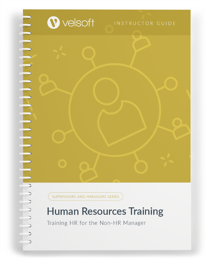 Human Resources Training: Training HR for the Non HR Manager
