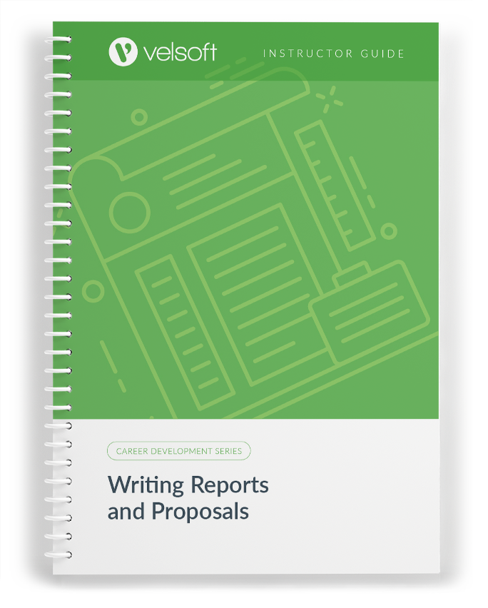 Writing Reports And Proposals Velsoft