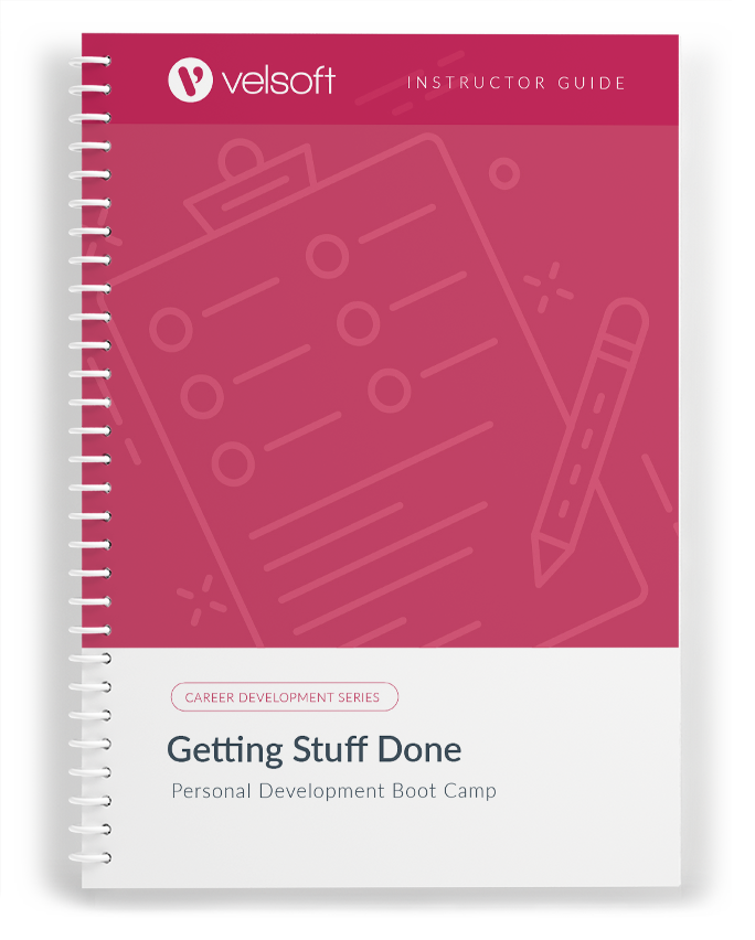 Getting Stuff Done: Personal Development Boot Camp