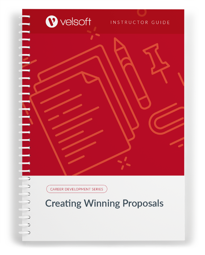 Creating Winning Proposals in a two-day course