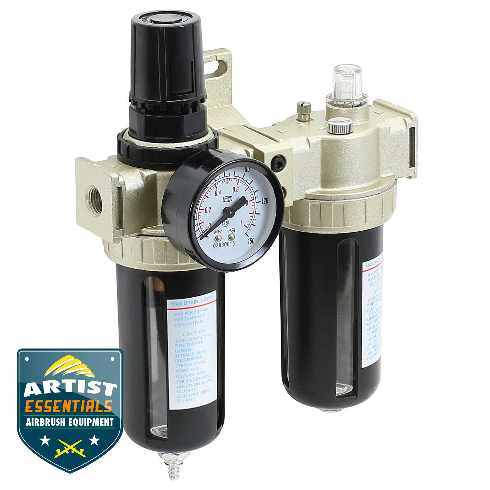 Air Compressor Filter - Lubricator Inline Regulator | eBay