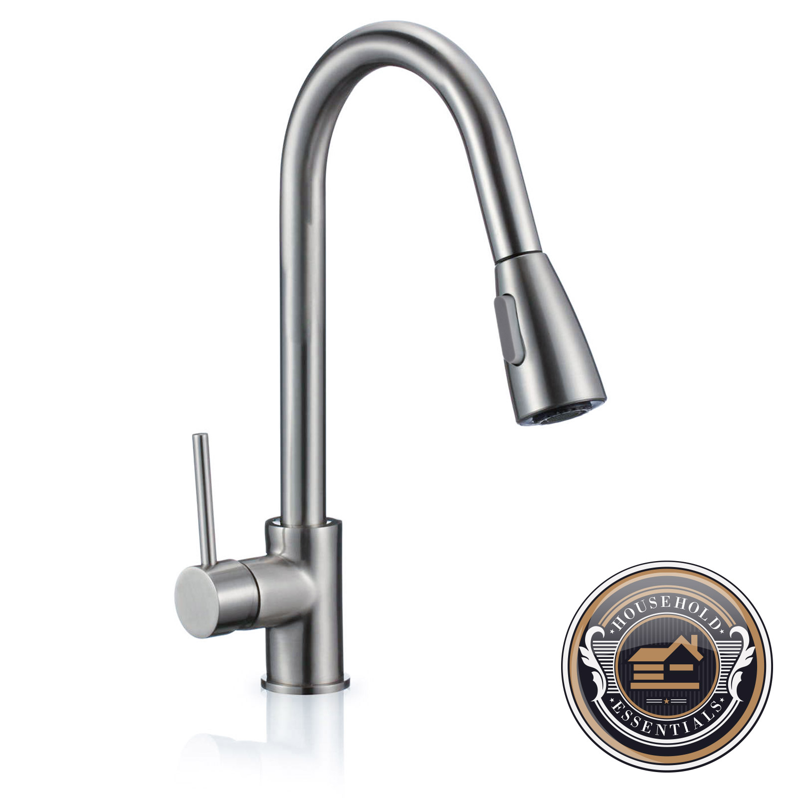 16 Quot Pull Down Kitchen And Bar Sink Faucet One Hole