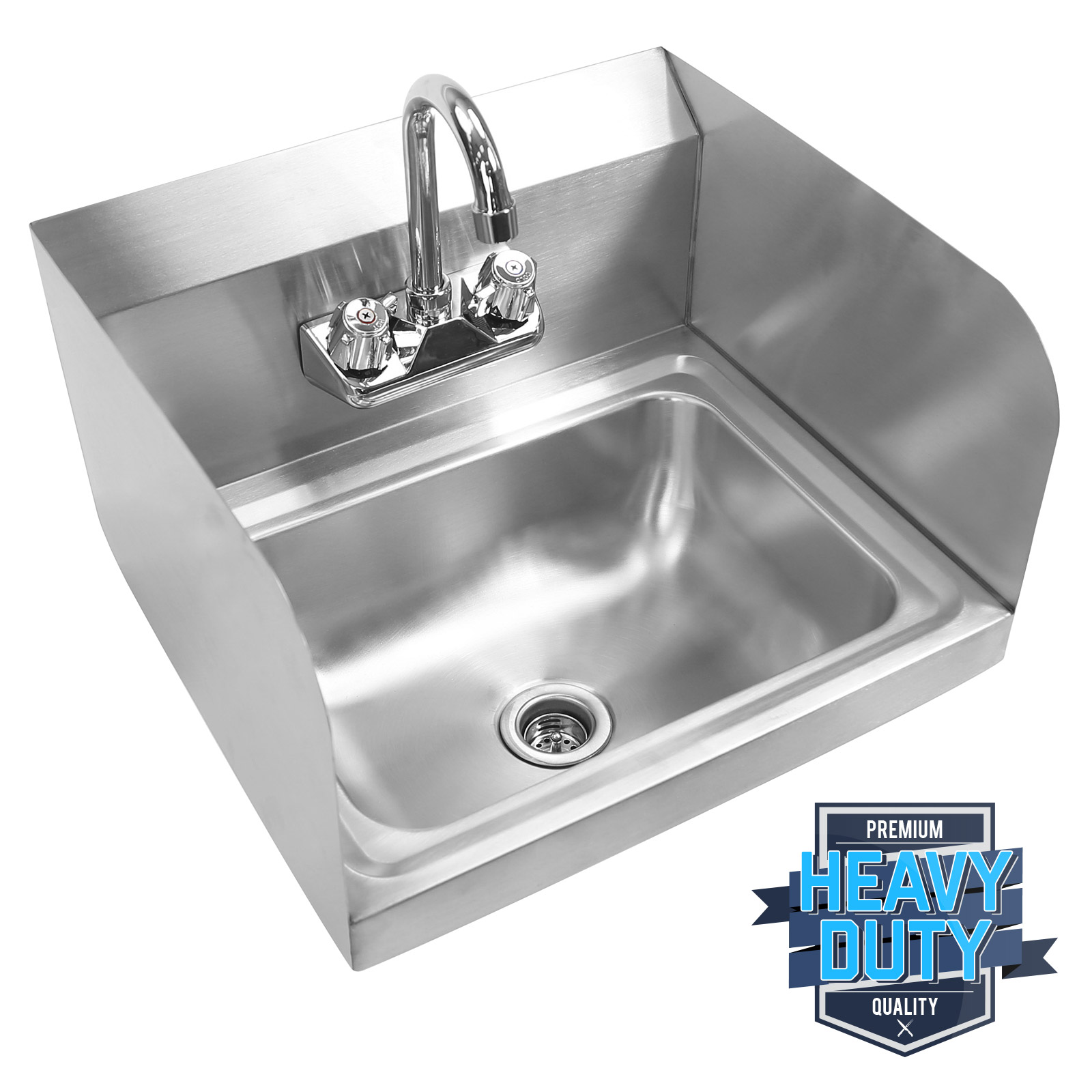 Commercial Kitchen Stainless Steel Wall Mount Hand Sink