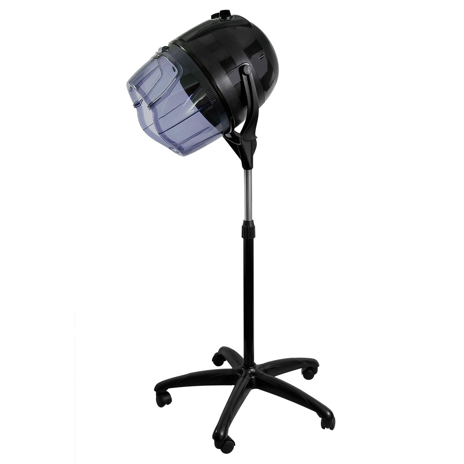 Salon Chair Hooded Bonnet Hair Dryer - Standing Rolling ...