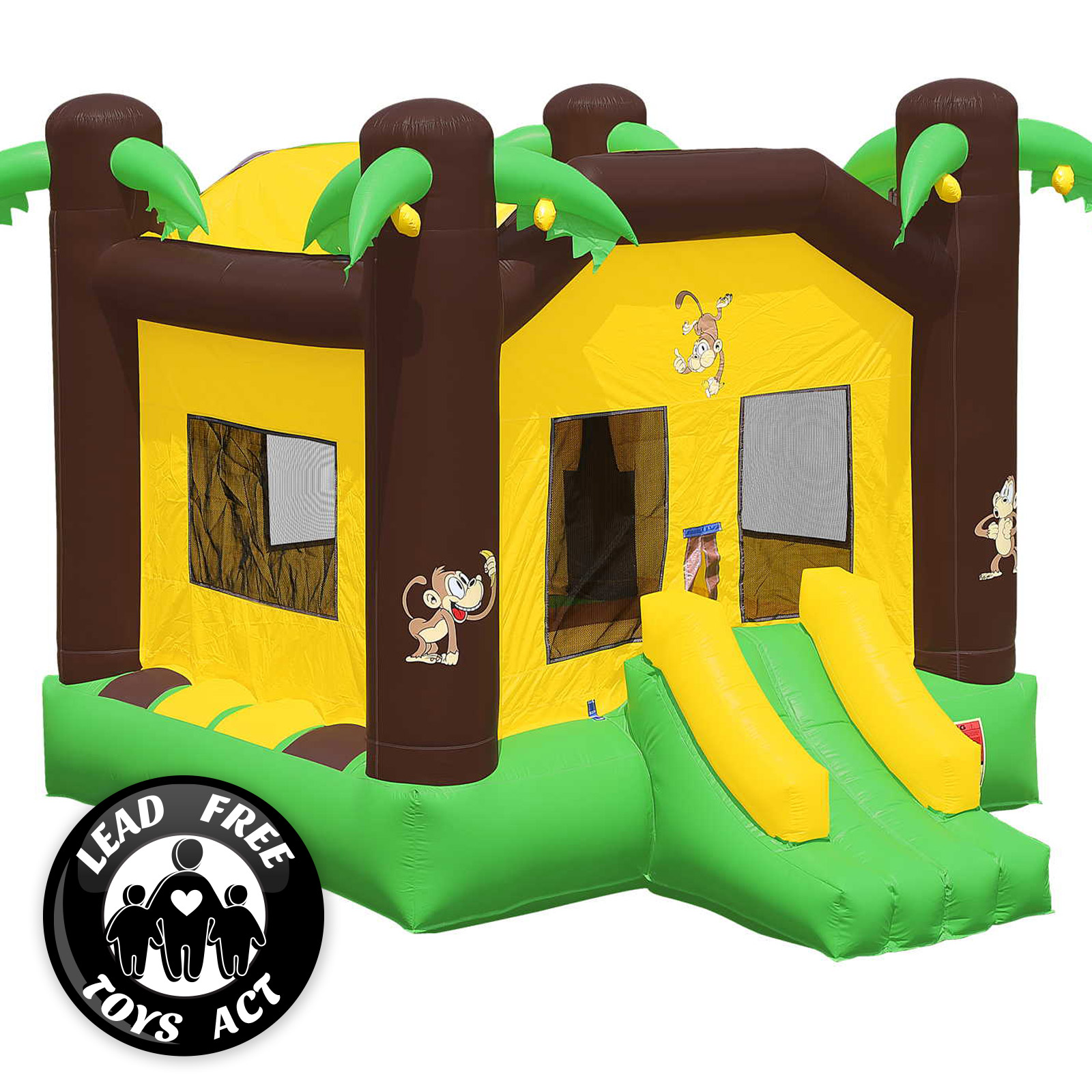 Commercial Grade Bounce House 100 Pvc Inflatable Jungle