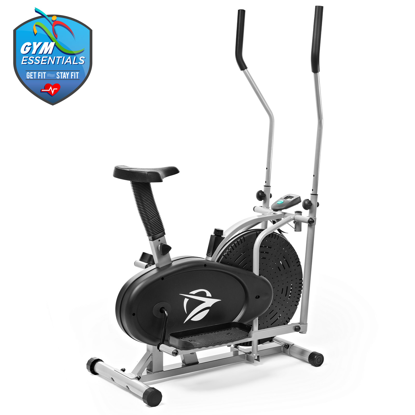 Elliptical Machine Trainer 2 In 1 Exercise Bike Compact