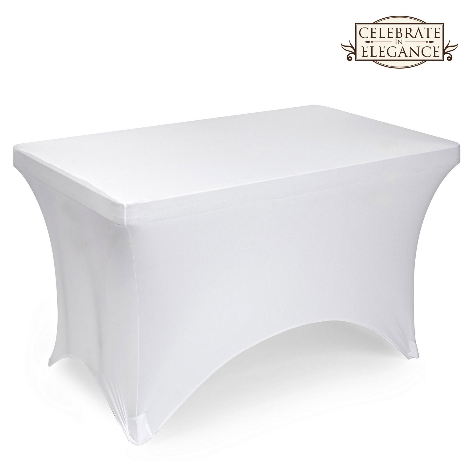 Fitted Spandex Stretch Fabric Tablecloth Cover Many