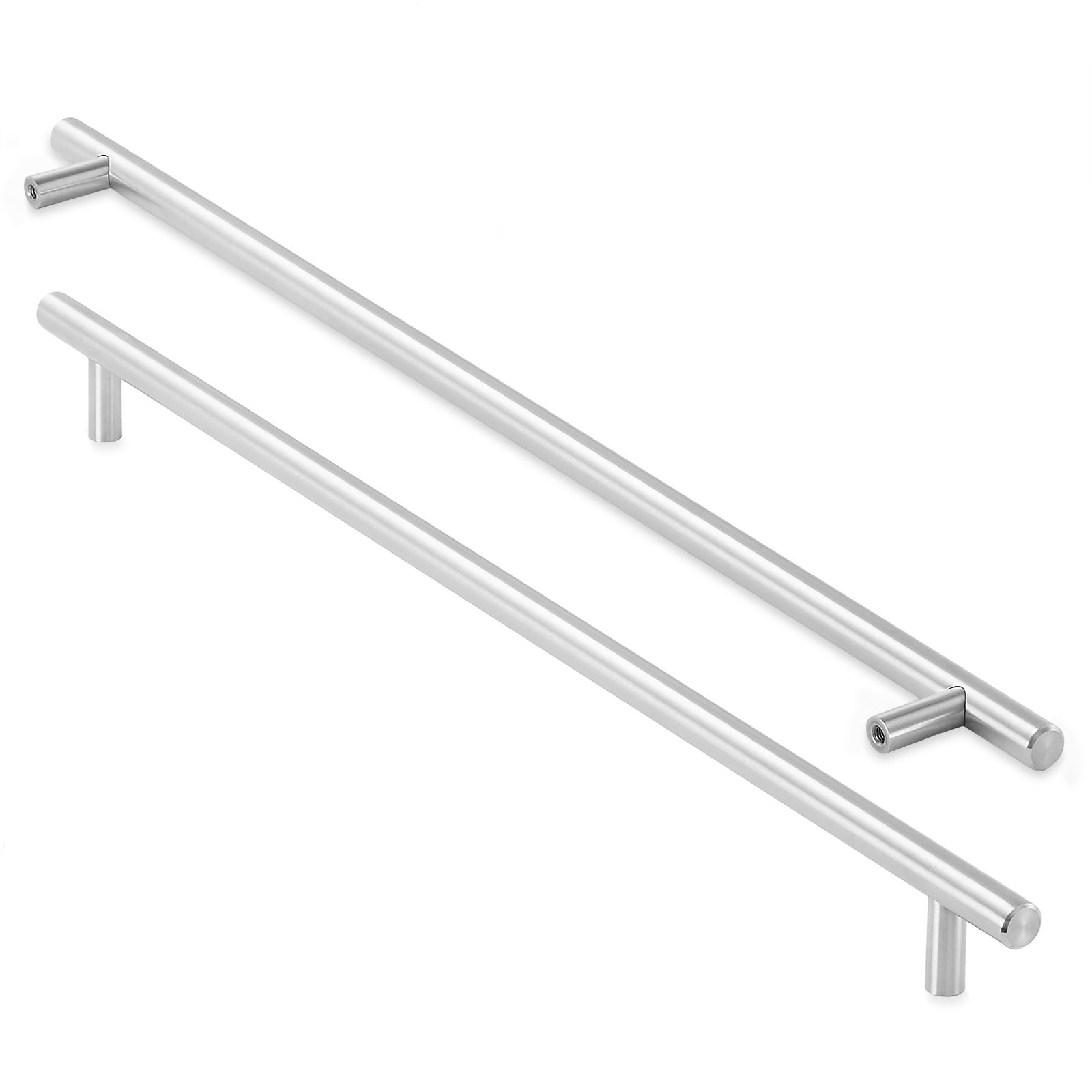 Solid Stainless Steel Kitchen Cabinet Hardware Handle Pull ...