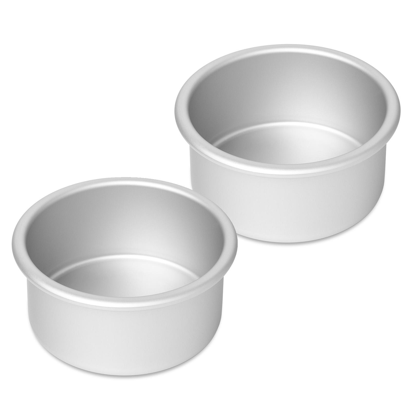 Professional Round Aluminum Cake Pans Baking Tins