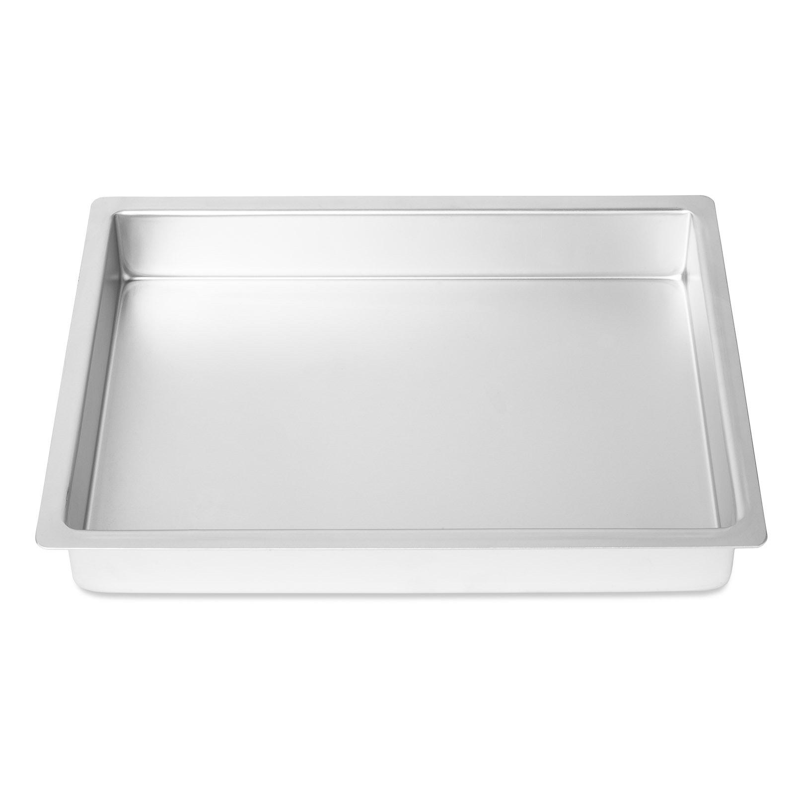 Details about Professional Rectangular Aluminum Sheet Cake Pan Baking Tin  (Assorted Sizes)