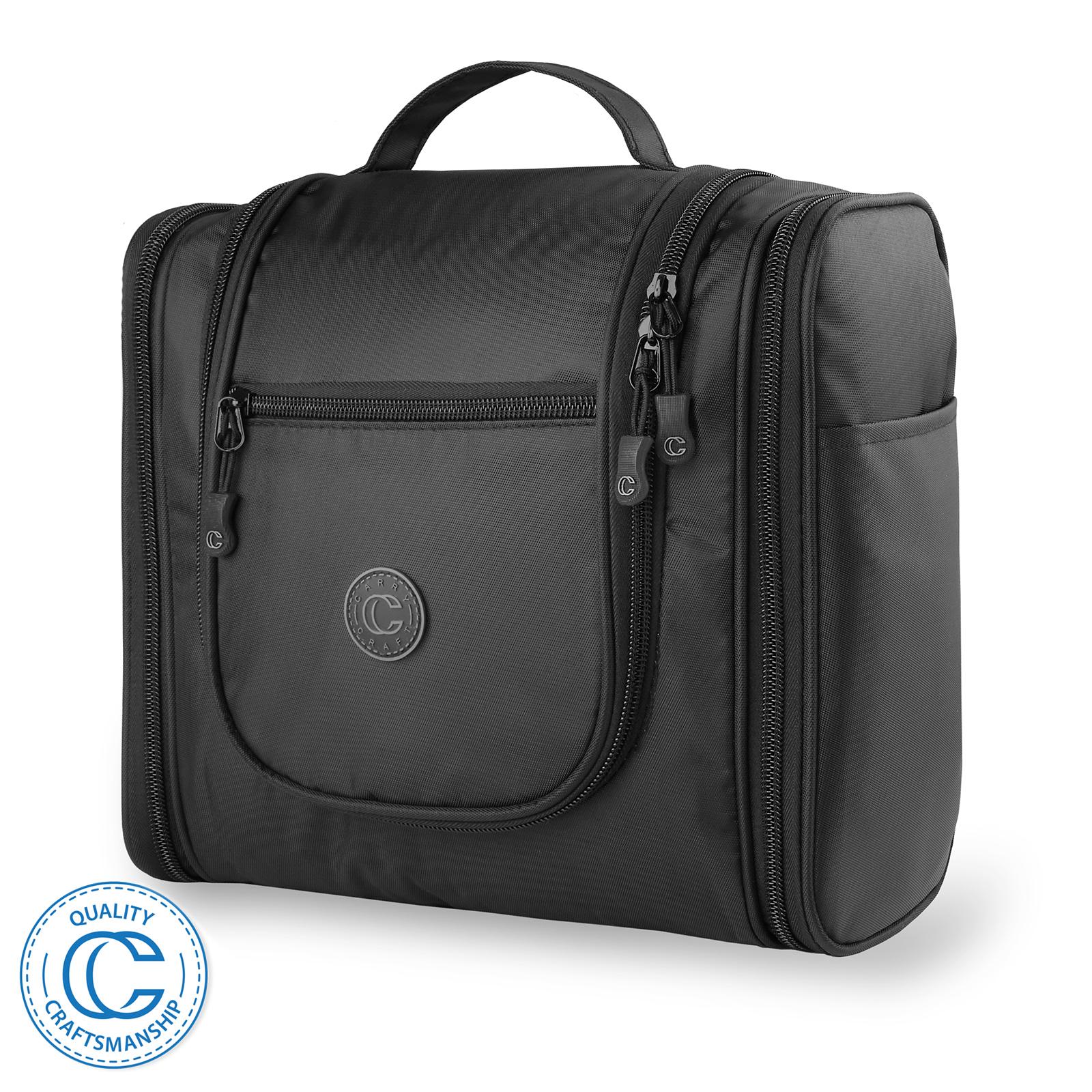 569bcbdb2c Details about Hanging Travel Toiletry Bag Organizer Case for Shaving Kit  Makeup Etc.