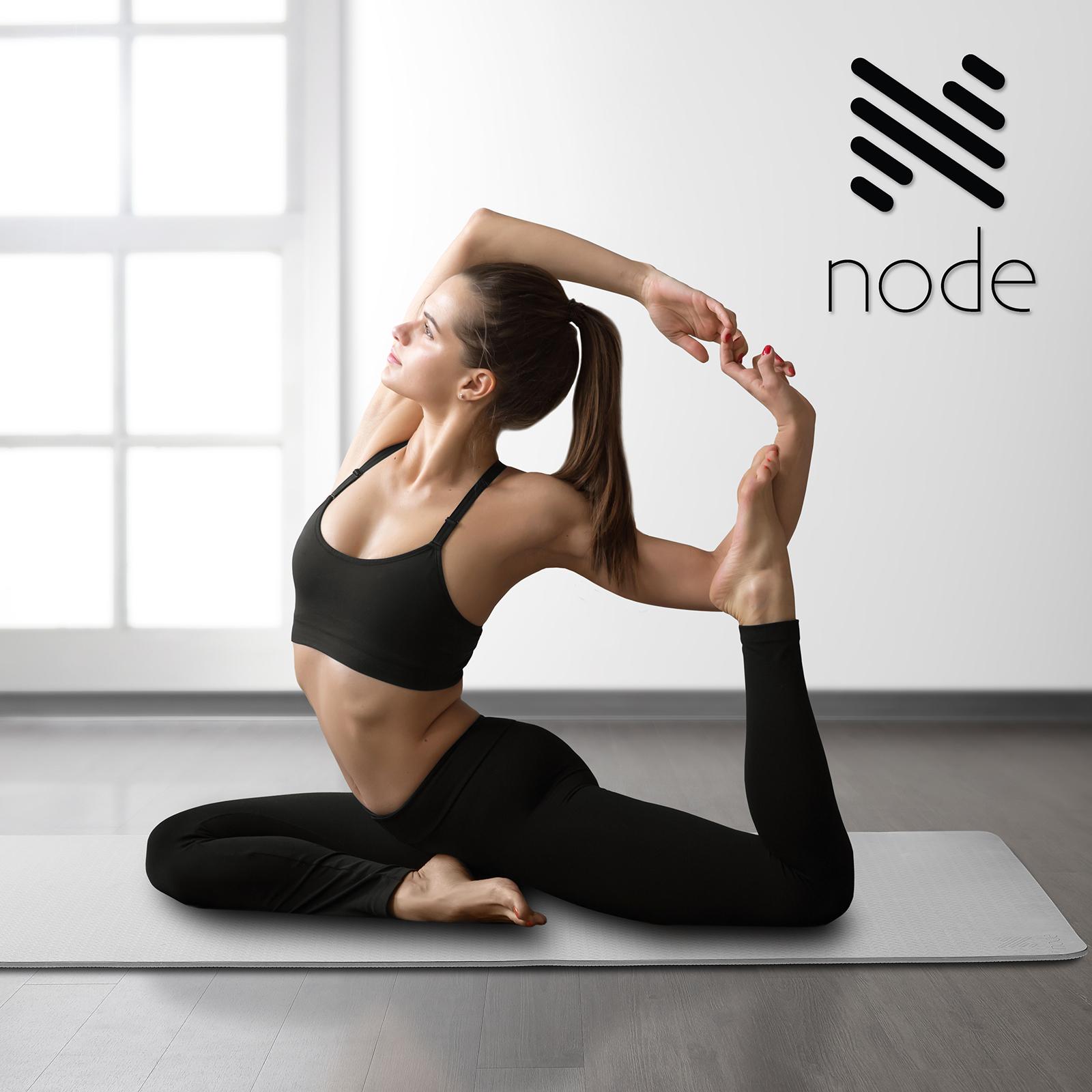 """72"""" X 26"""" Large Eco TPE Exercise Yoga Mat"""