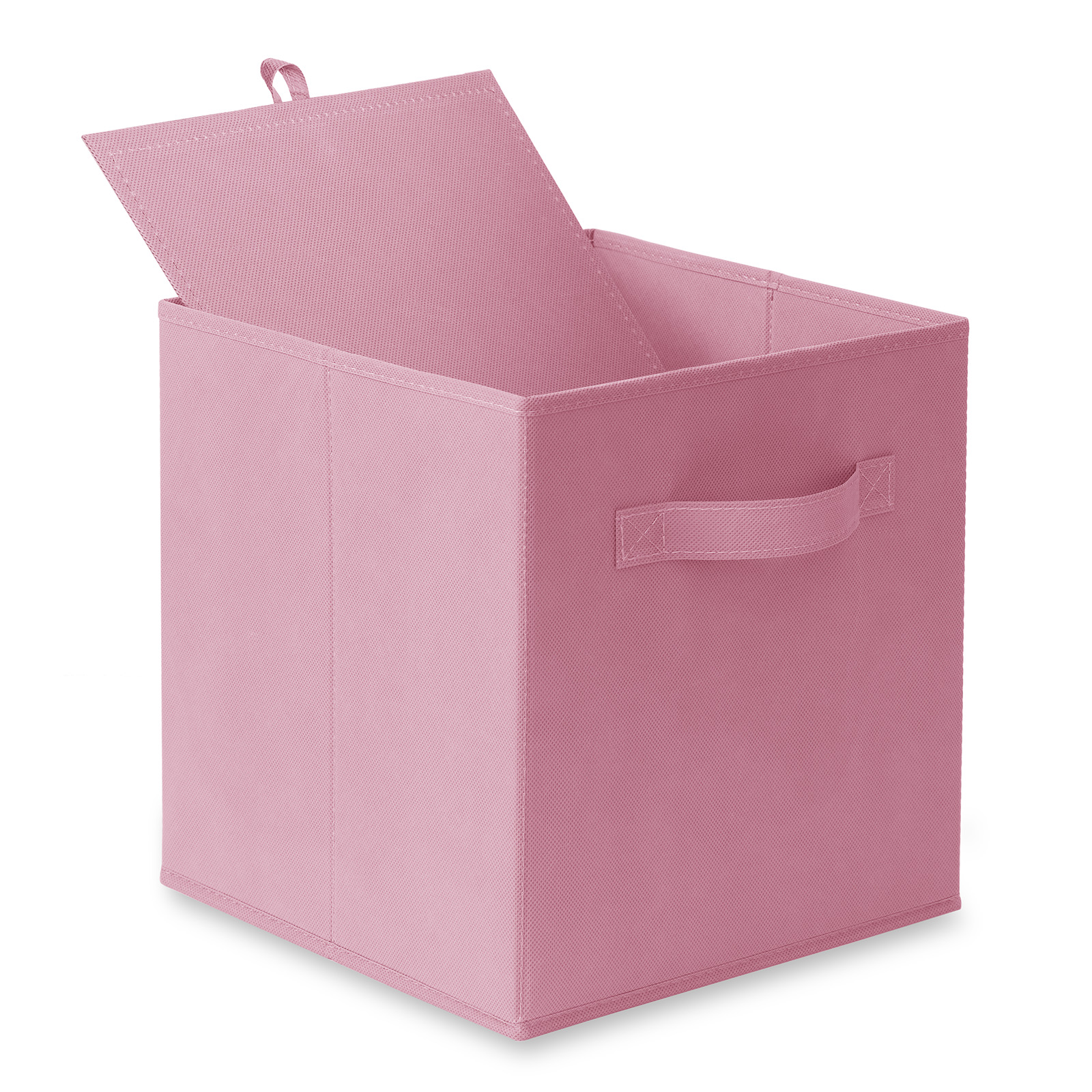 6-Collapsible-Foldable-Cloth-Fabric-Cubby-Cube-Storage-Bins-Baskets-for-Shelves thumbnail 42