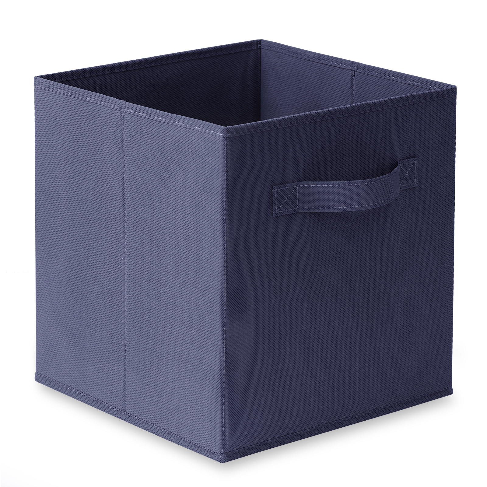 6 collapsible foldable cloth fabric cubby cube storage bins baskets for shelves ebay. Black Bedroom Furniture Sets. Home Design Ideas