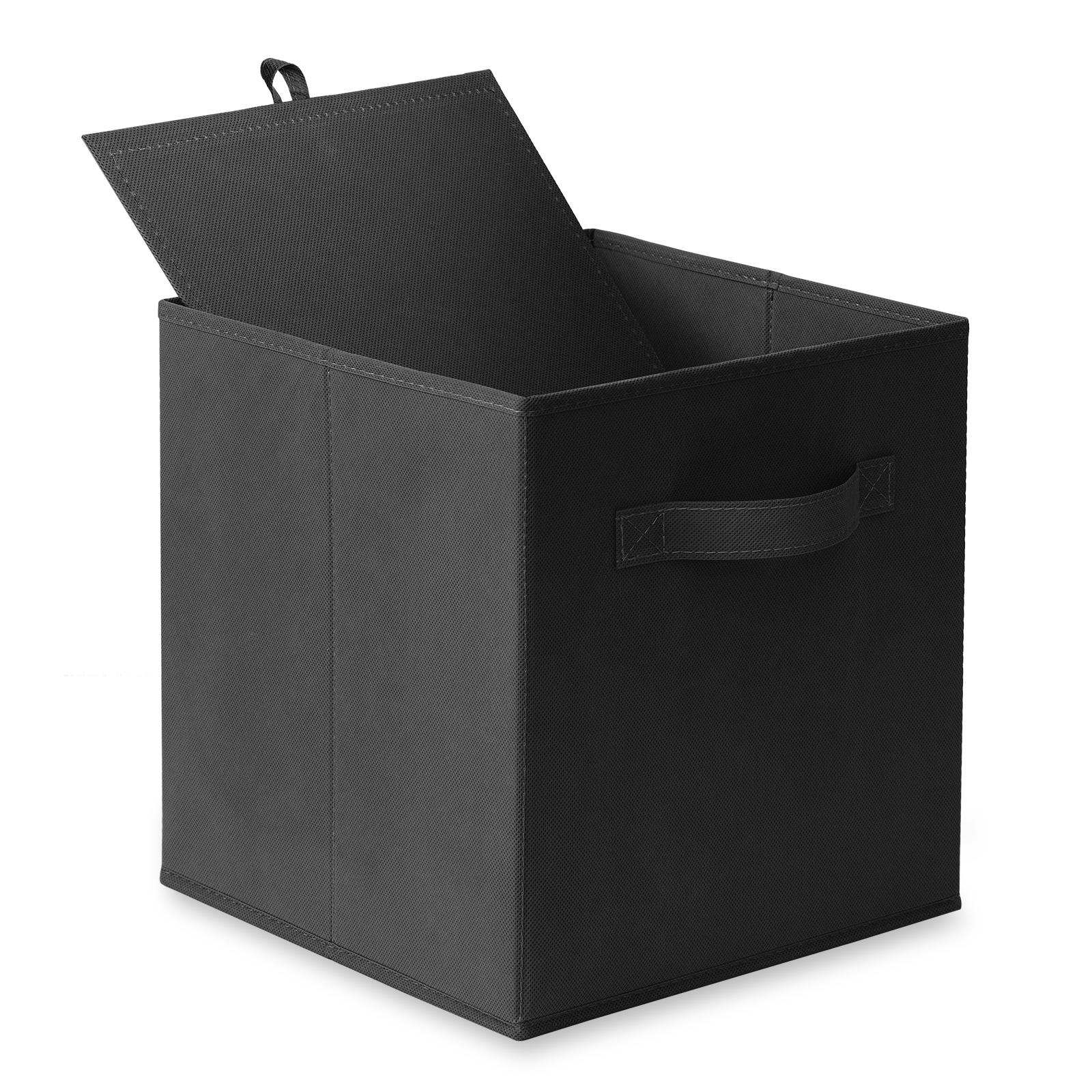 6-Collapsible-Foldable-Cloth-Fabric-Cubby-Cube-Storage-Bins-Baskets-for-Shelves thumbnail 16