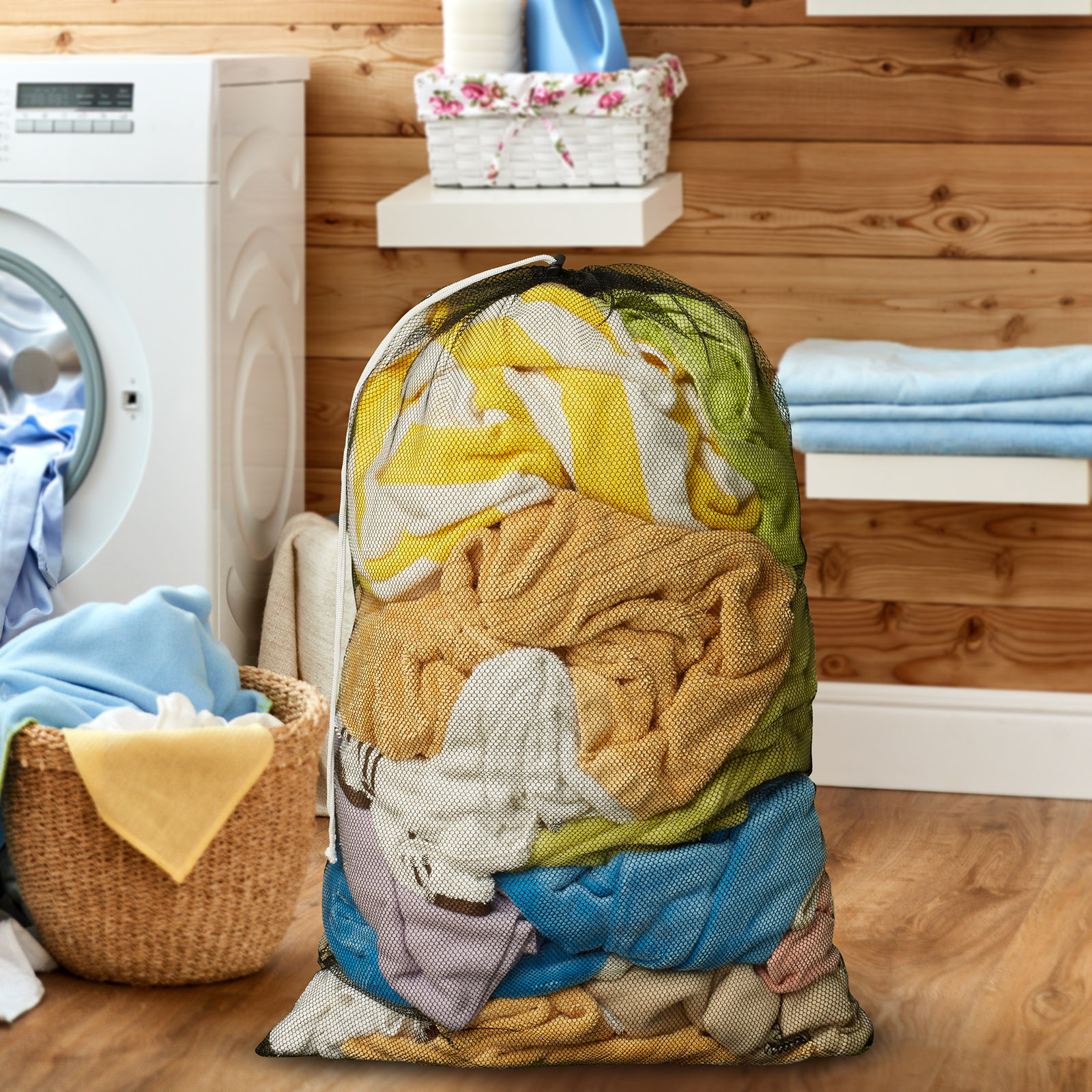 24-034-x-36-034-Large-Heavy-Duty-Mesh-Net-Drawstring-Laundry-or-Equipment-Ball-Bag thumbnail 7