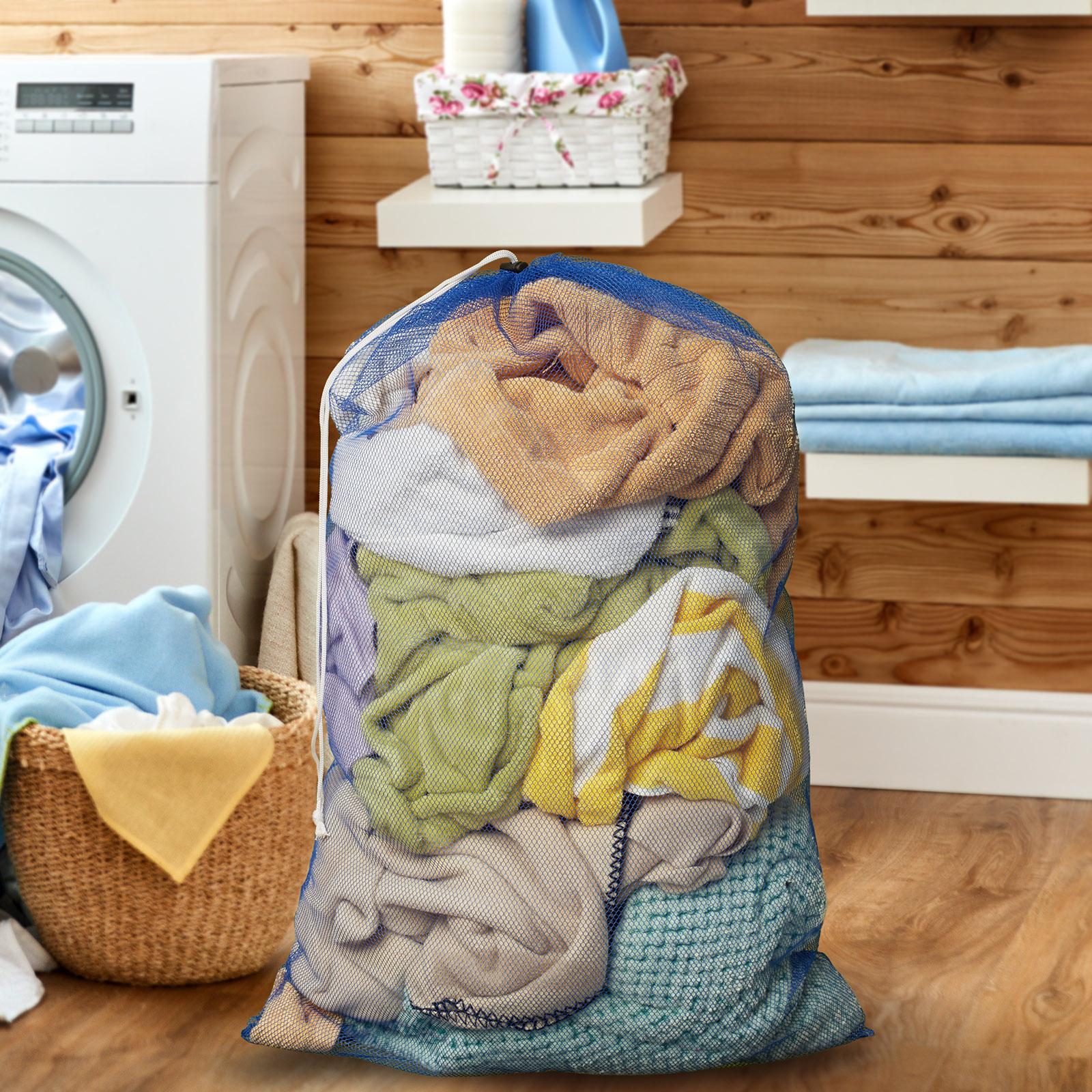 24-034-x-36-034-Large-Heavy-Duty-Mesh-Net-Drawstring-Laundry-or-Equipment-Ball-Bag thumbnail 13