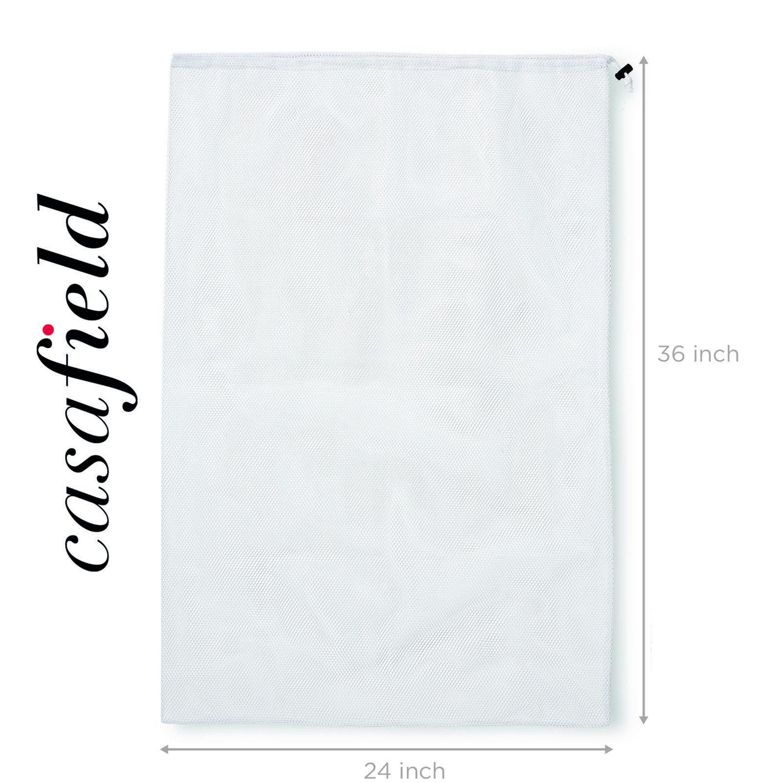 24-034-x-36-034-Large-Heavy-Duty-Mesh-Net-Drawstring-Laundry-or-Equipment-Ball-Bag thumbnail 24