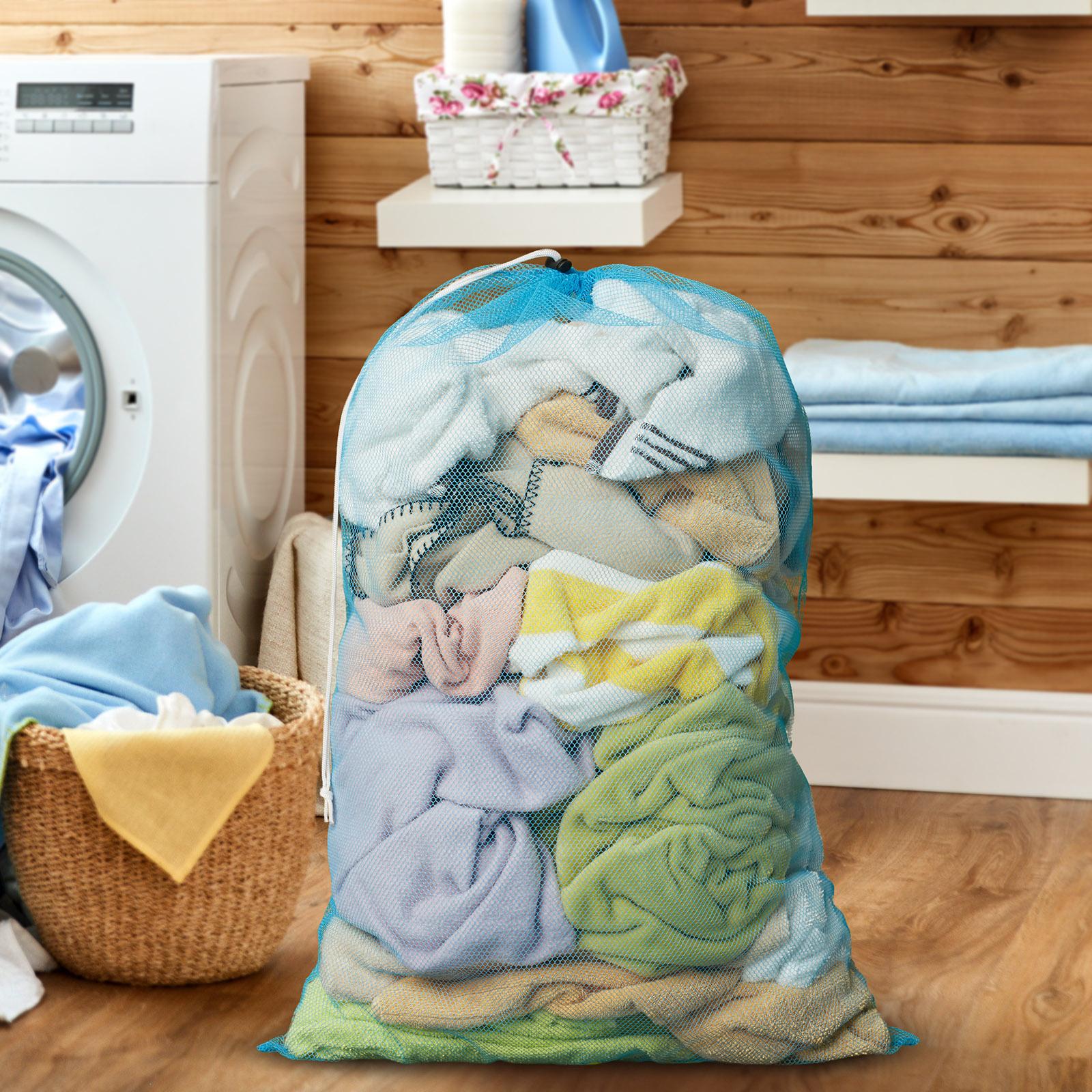 24-034-x-36-034-Large-Heavy-Duty-Mesh-Net-Drawstring-Laundry-or-Equipment-Ball-Bag thumbnail 19