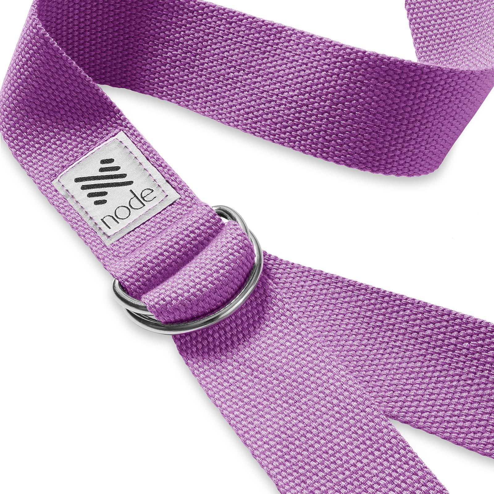 7-1-2-039-Woven-Cotton-Blend-Yoga-Strap-Stretching-Exercise-Prop-Belt thumbnail 25